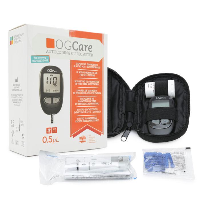 Kết quả hình ảnh cho Máy đo đường huyết Ogcare
